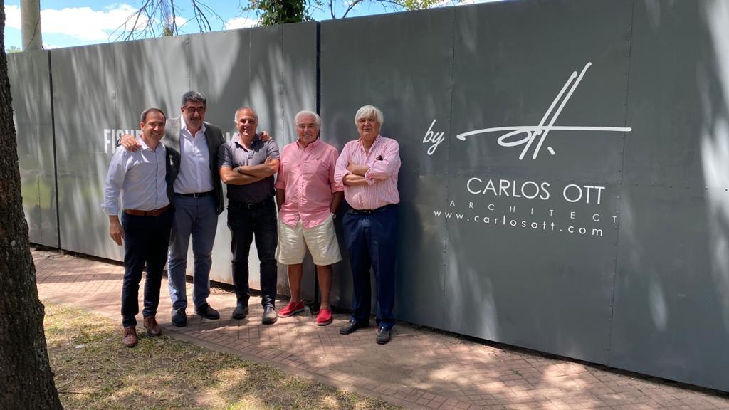 Lisandro Arguelles, Gabriek Perez, juan felix Rossetti, Moncho Parmigiani y Carlos Ott
